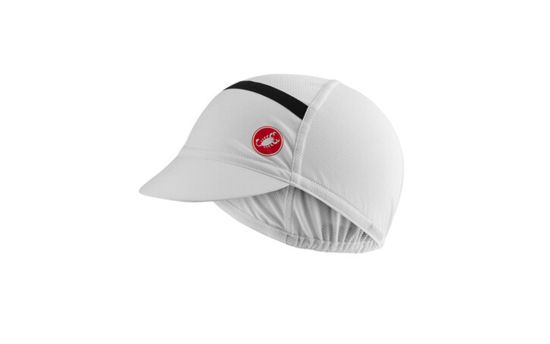 Picture of CASTELLI OMBRA CYCLING CAP White
