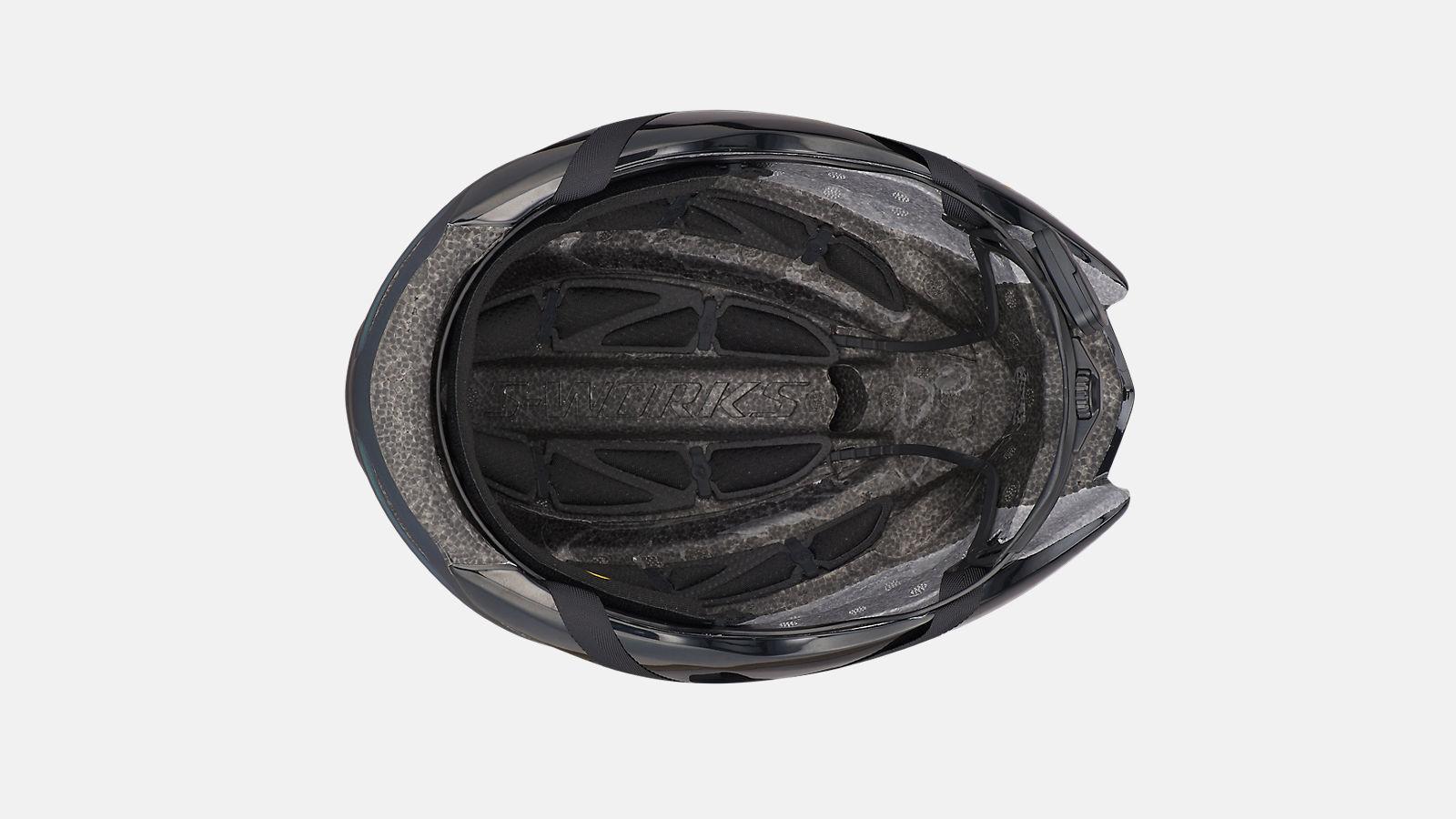 Immagine di SPECIALIZED CASCO S-WORKS EVADE II CON ANGI Satin Chameleon/Gloss Black