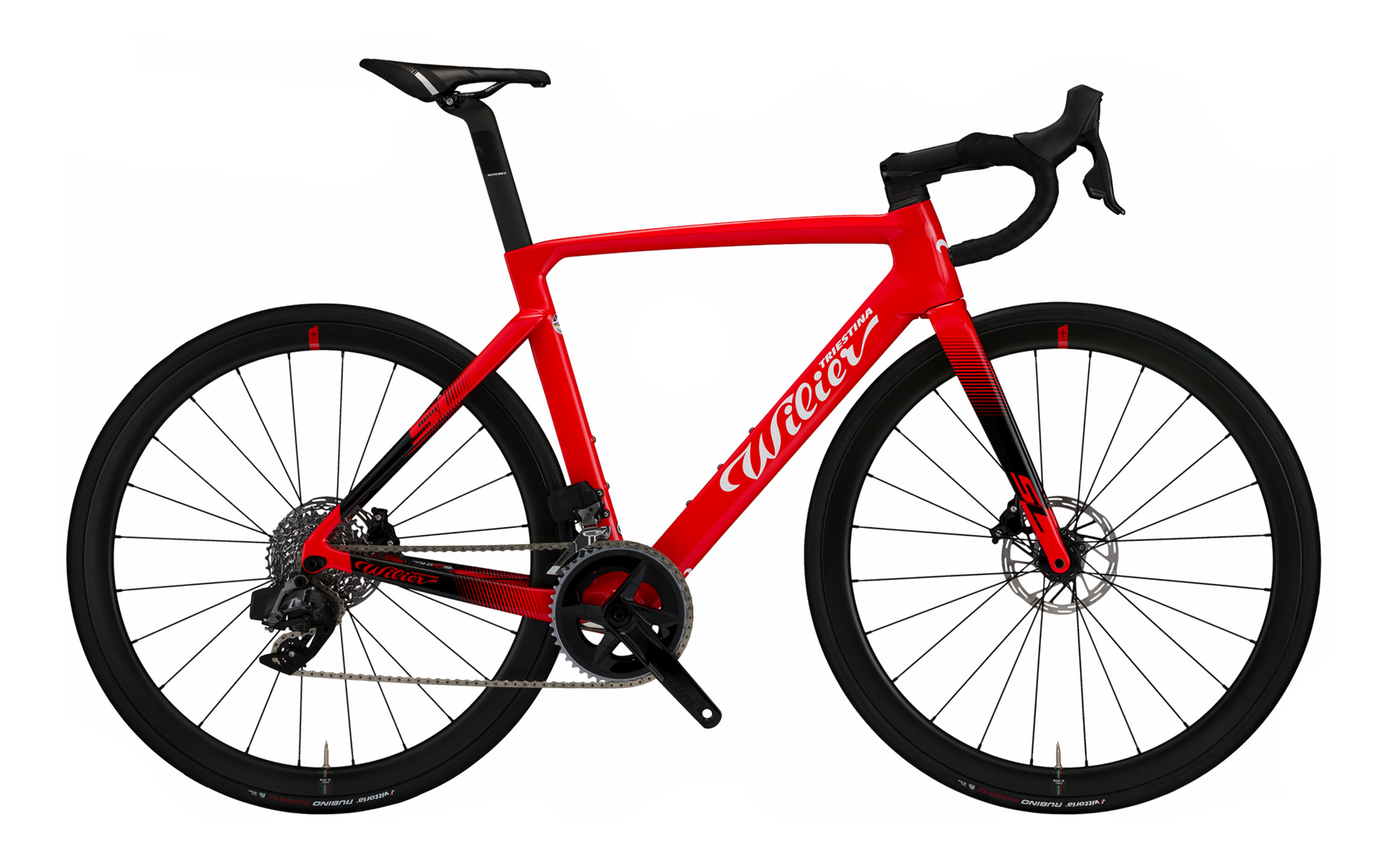Picture of WILIER CENTO10 SL RED/BLACK/GLOZZY MY22 TG M