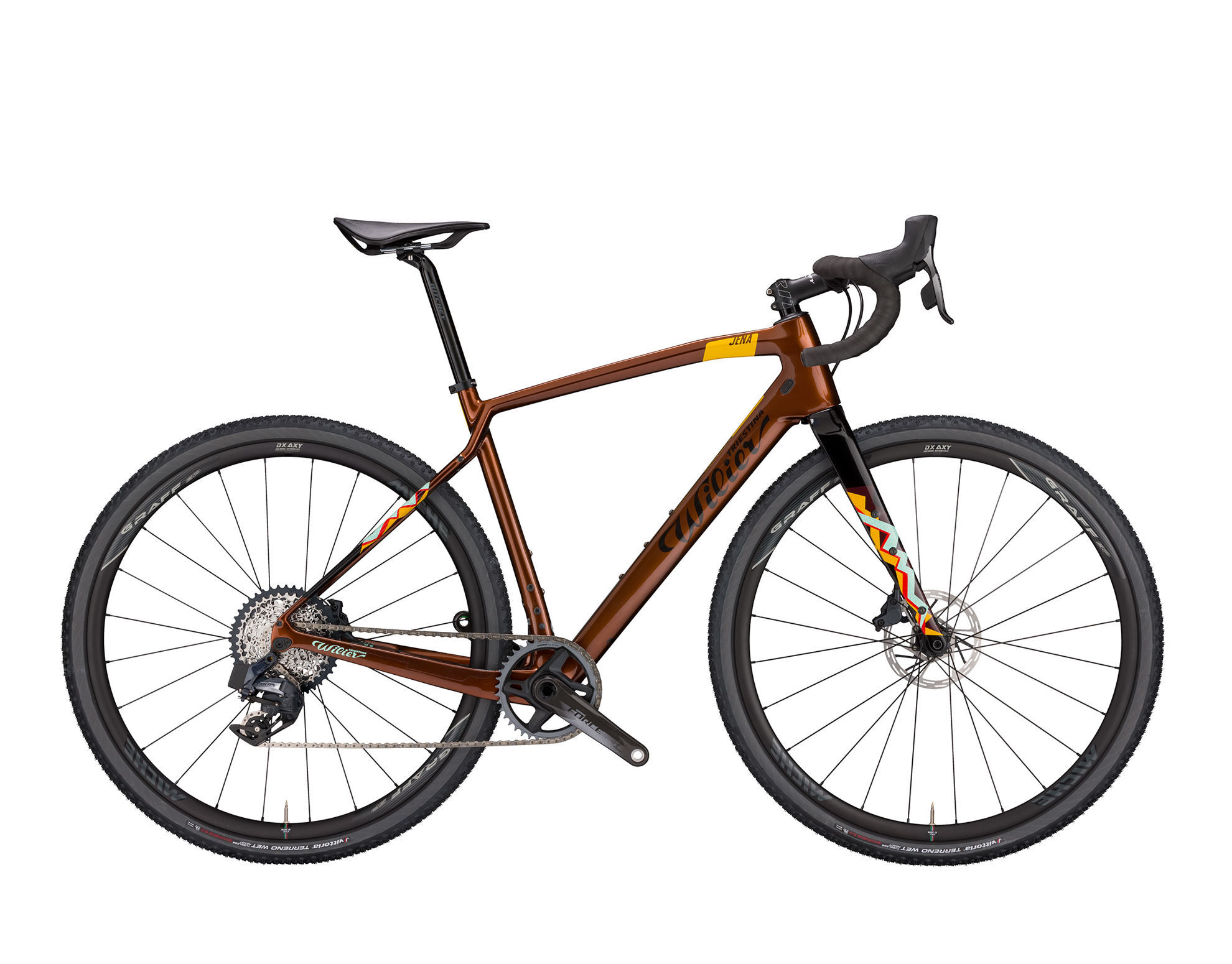 Picture of WILIER JENA GRX 1X11 J18 PATTERNED BRONZE; GLOSSY