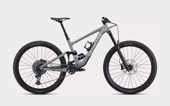 Picture of SPECIALIZED ENDURO COMP  MY22 - SATIN COOL GREY/ WHITE